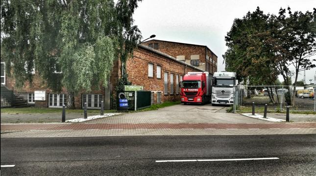Collection of cargo to our consolidation warehouse in Berlin