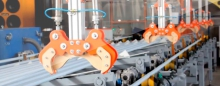 Delivery of industrial equipment on order from Germany